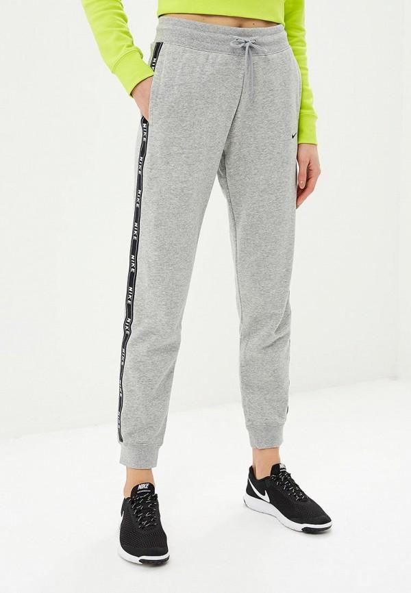женские спортивные спортивные брюки nike, серые