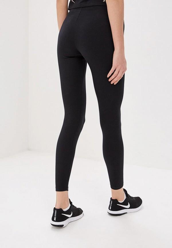 Фото 3 - Леггинсы Nike черного цвета