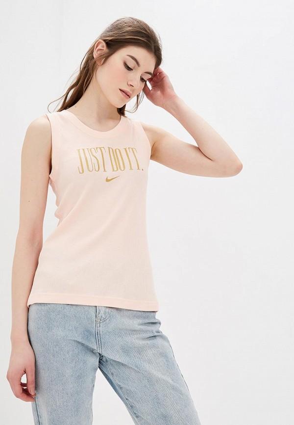 Купить Майка Nike, W NSW TANK PREP JDI, ni464ewdnwx3, розовый, Весна-лето 2019