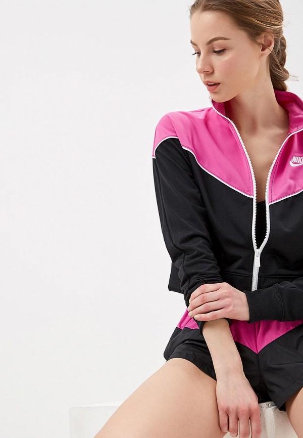 женская олимпийка nike, розовая