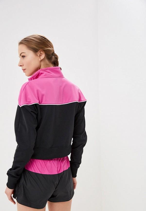 Фото 3 - женскую толстовку или олимпийку Nike розового цвета