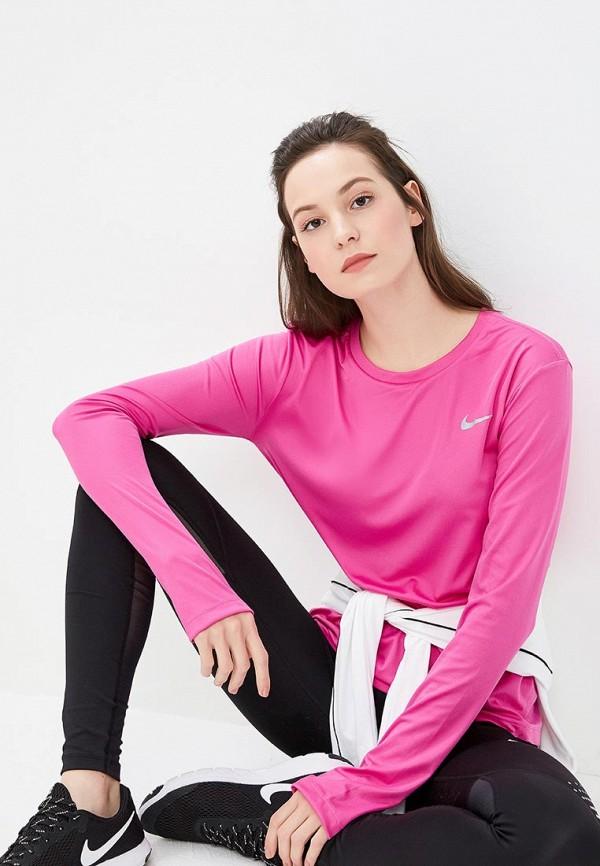 где купить Лонгслив спортивный Nike Nike NI464EWETRO5 дешево