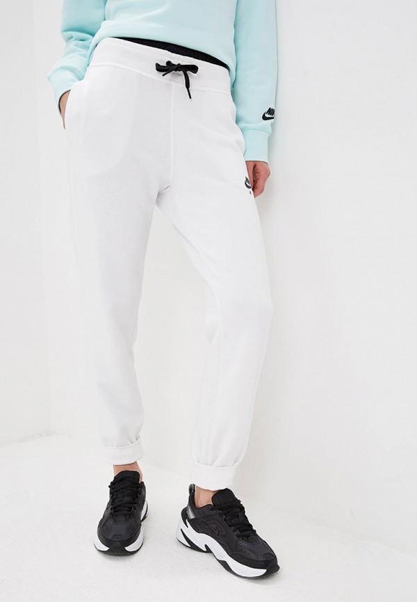 женские спортивные спортивные брюки nike, белые