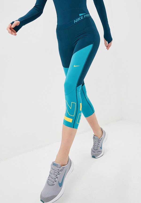 Тайтсы Nike Nike NI464EWETSH3 тайтсы nike nike ni464ewaafe3