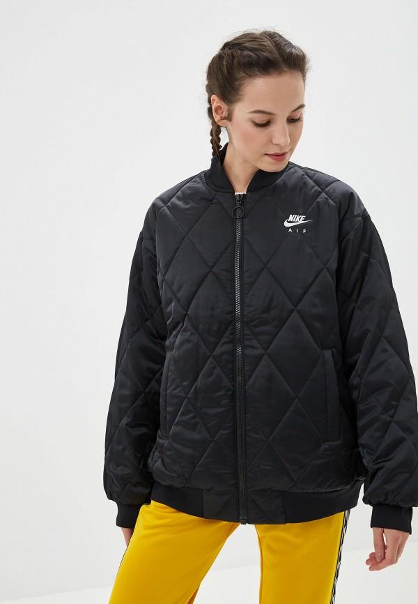 Фото 5 - Куртку утепленная Nike черного цвета