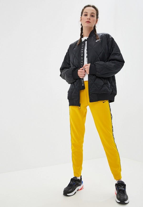 Фото 6 - Куртку утепленная Nike черного цвета