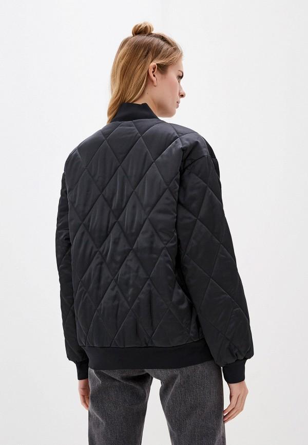 Фото 3 - Куртку утепленная Nike черного цвета