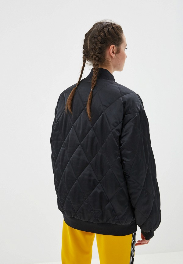 Фото 7 - Куртку утепленная Nike черного цвета