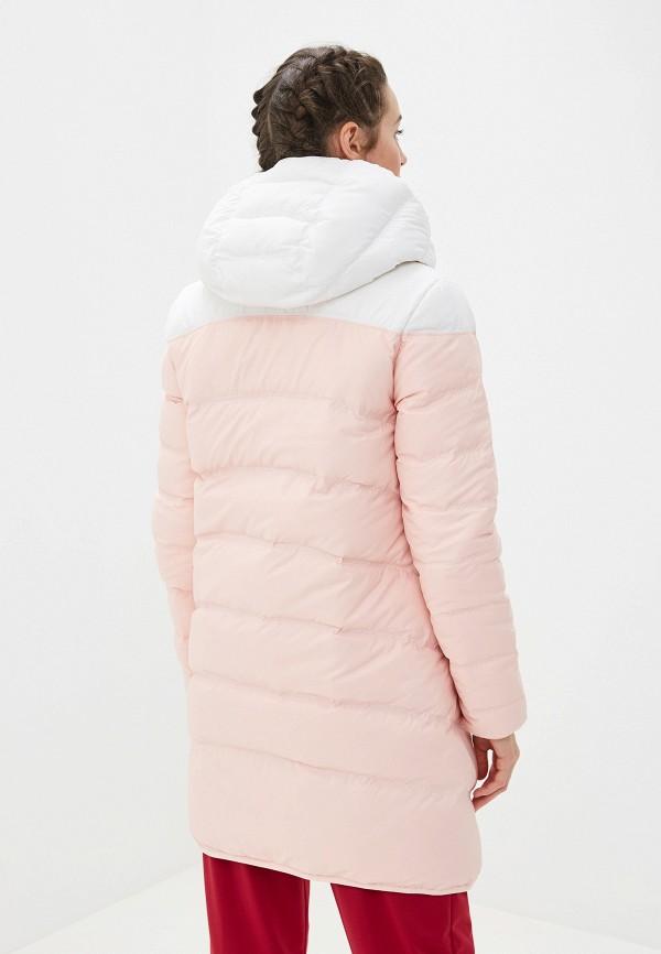Фото 3 - Пуховик Nike розового цвета