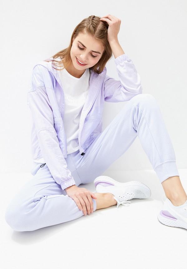 Фото 2 - Брюки спортивные Nike фиолетового цвета