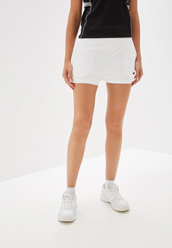 Фото - Шорты спортивные Nike белого цвета