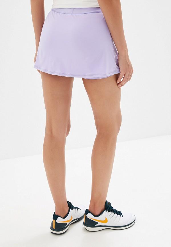 Фото 3 - Юбку-шорты Nike фиолетового цвета