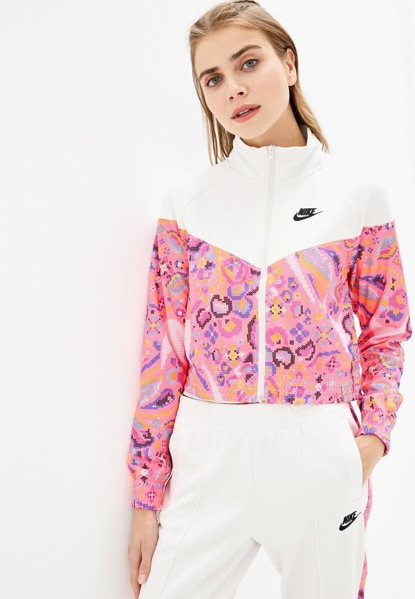Фото - женскую толстовку или олимпийку Nike розового цвета