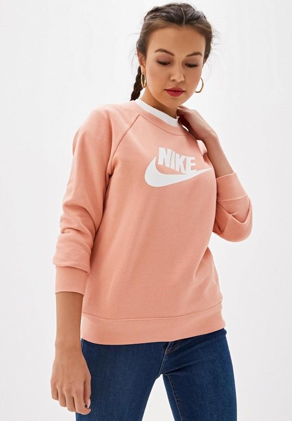 Фото - Свитшот Nike розового цвета