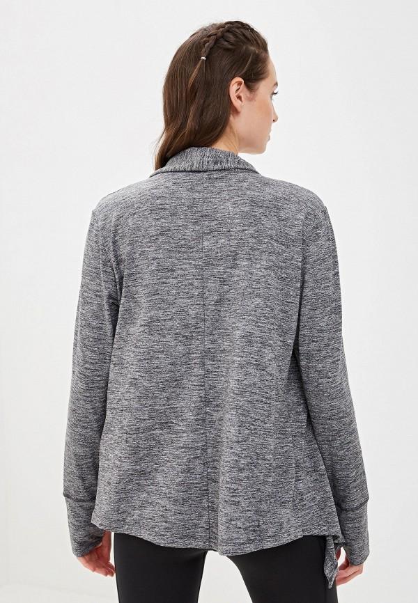 Фото 3 - Кардиган Nike серого цвета