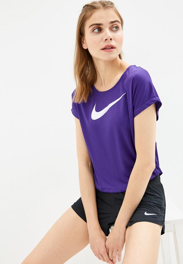Фото - Футболку спортивная Nike фиолетового цвета
