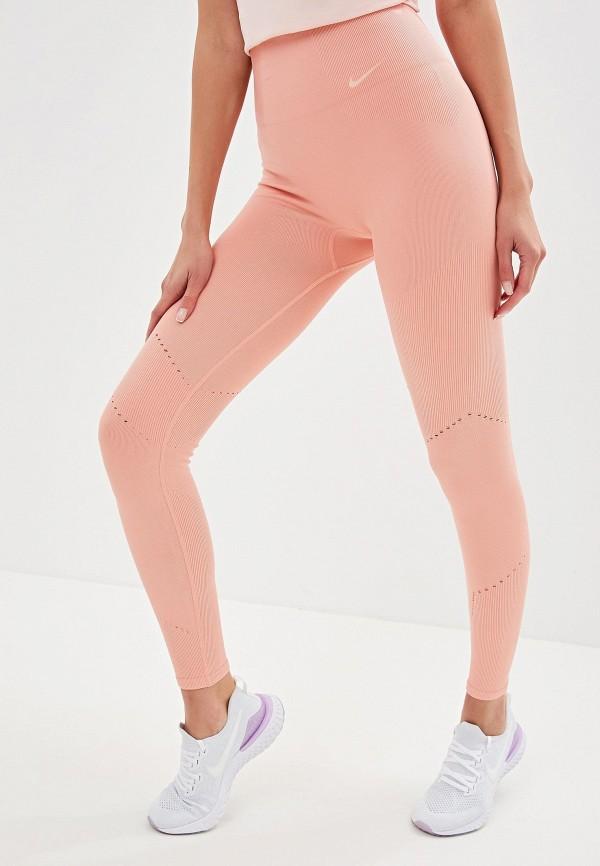 Фото - Тайтсы Nike розового цвета