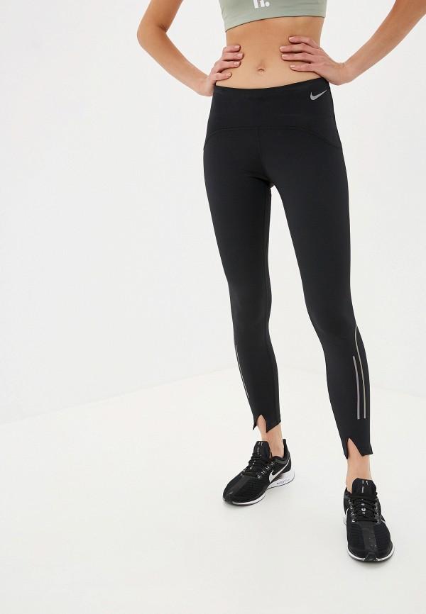 Фото - Тайтсы Nike черного цвета
