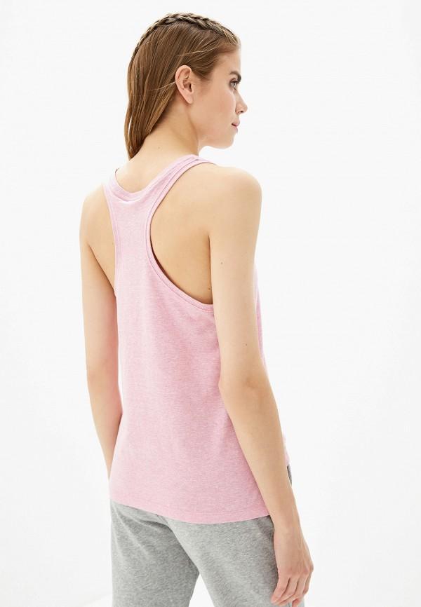Фото 3 - Майку спортивная Nike розового цвета