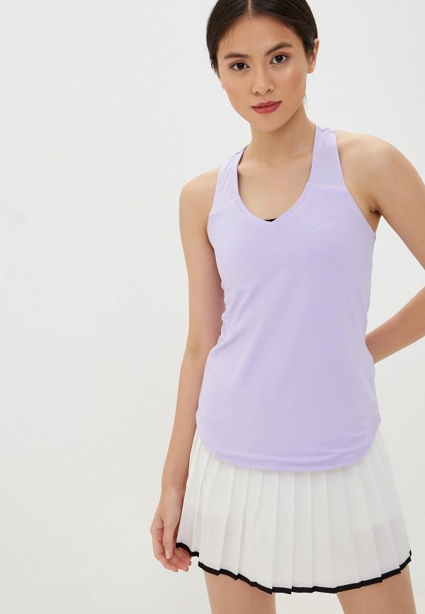 Фото - Майку спортивная Nike фиолетового цвета