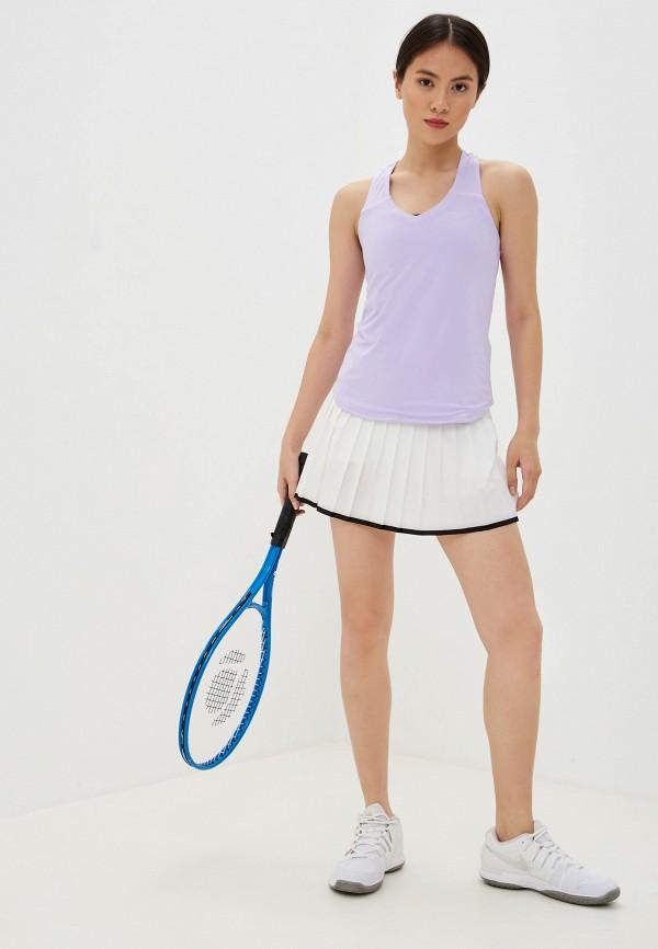 Фото 2 - Майку спортивная Nike фиолетового цвета