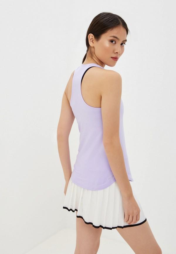 Фото 3 - Майку спортивная Nike фиолетового цвета