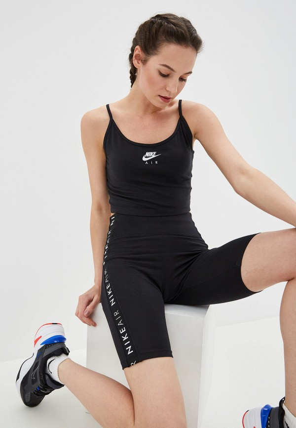 Фото - Женский топ Nike черного цвета