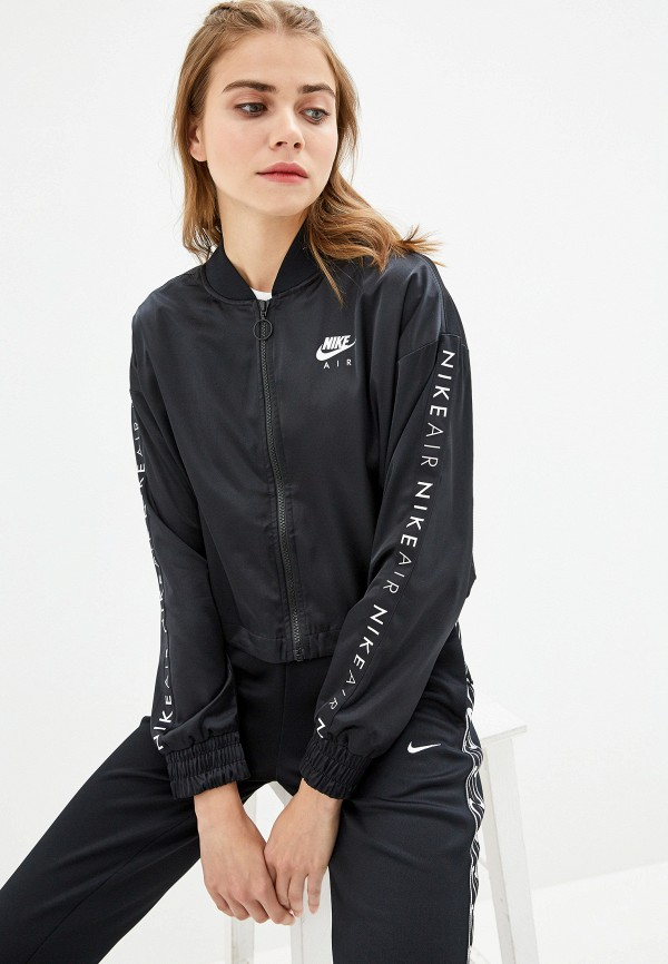 Фото - женскую толстовку или олимпийку Nike черного цвета