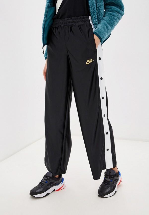 женские спортивные брюки nike, черные