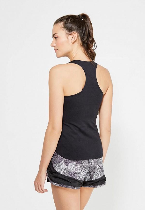 Фото 3 - Майку спортивная Nike черного цвета