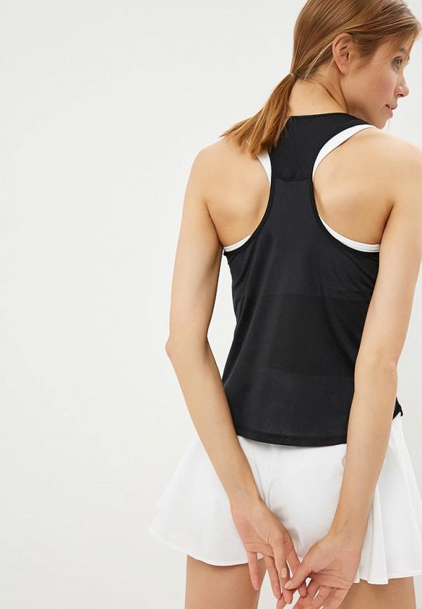 Фото 6 - Майку спортивная Nike черного цвета