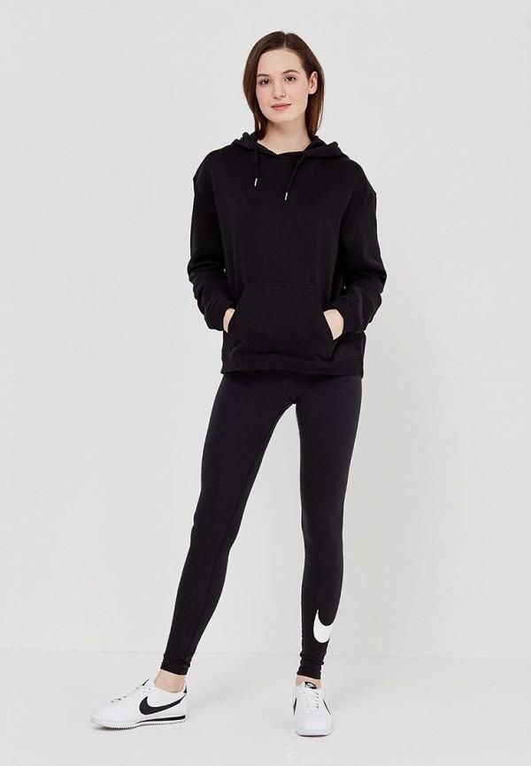 Фото 2 - Леггинсы Nike черного цвета