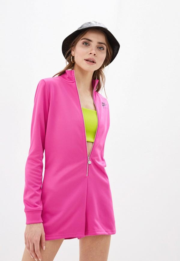 женский спортивные комбинезон nike, розовый