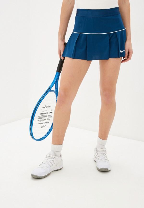 женская спортивные юбка nike, синяя