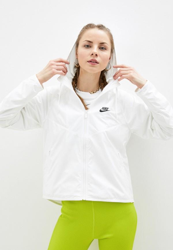 Ветровка Nike, Белый, W NSW WR JKT