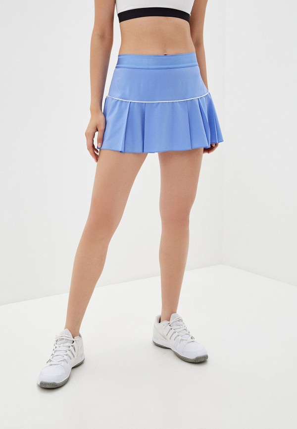 женская спортивные юбка nike, голубая