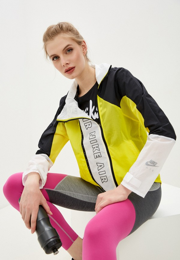 женская спортивные куртка nike, разноцветная