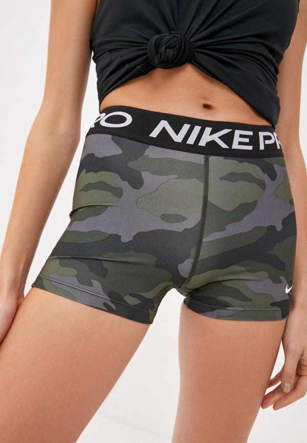 женские спортивные шорты nike, хаки