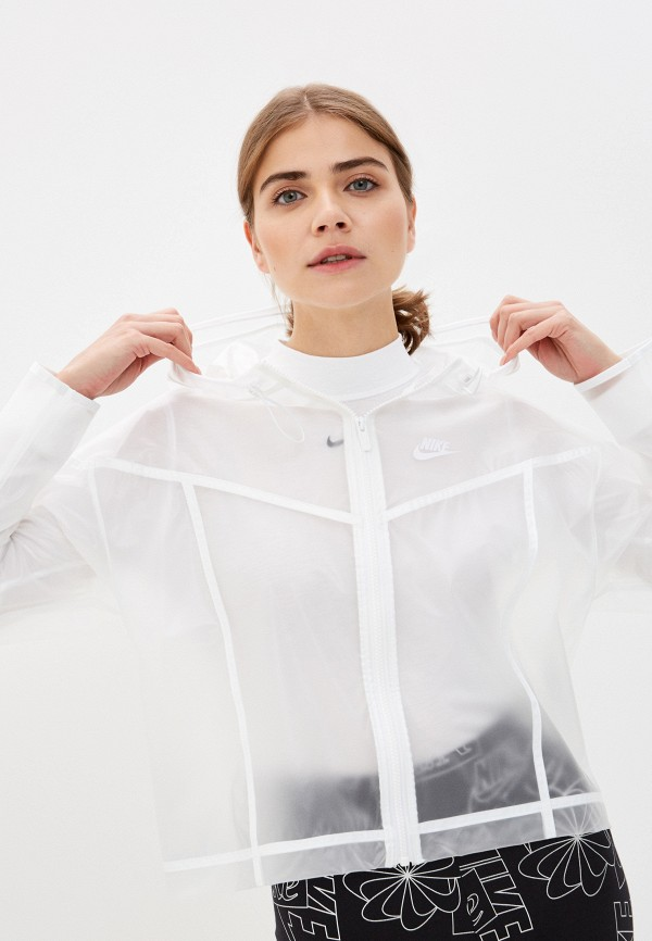 Ветровка Nike белого цвета