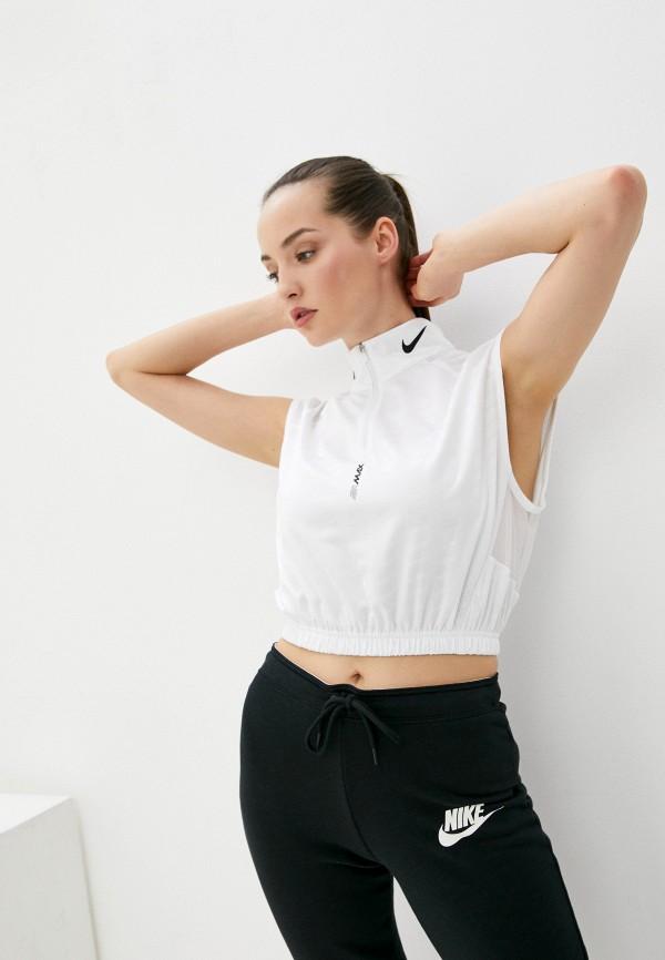 женский спортивный костюм nike, белый