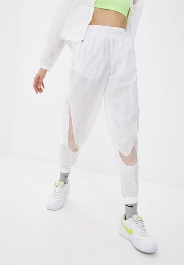 женские спортивные брюки nike, белые