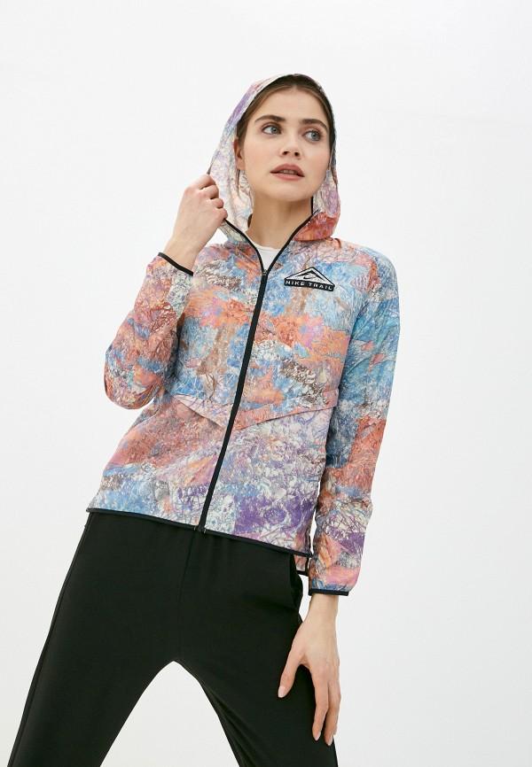 женская ветровка nike, разноцветная