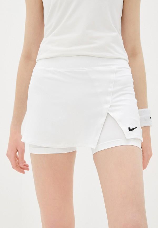 женская спортивные юбка nike, белая