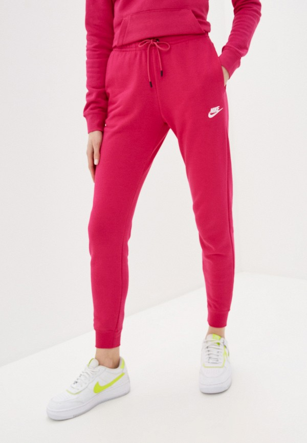 женские спортивные брюки nike, розовые