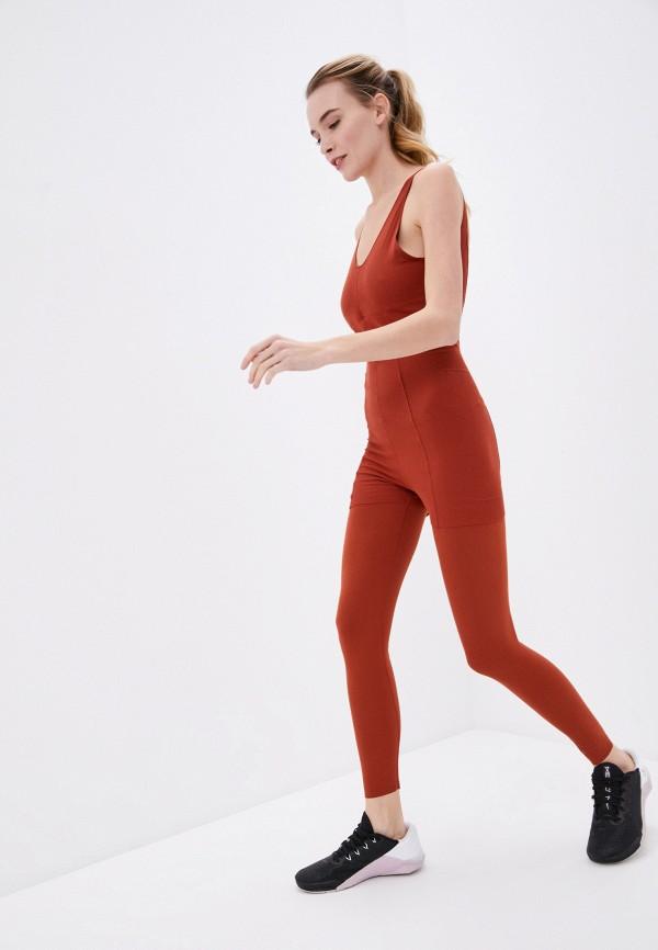 женский спортивные комбинезон nike, коричневый