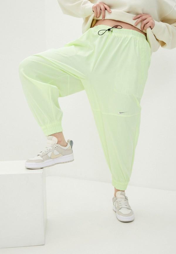 женские брюки джоггеры nike, желтые