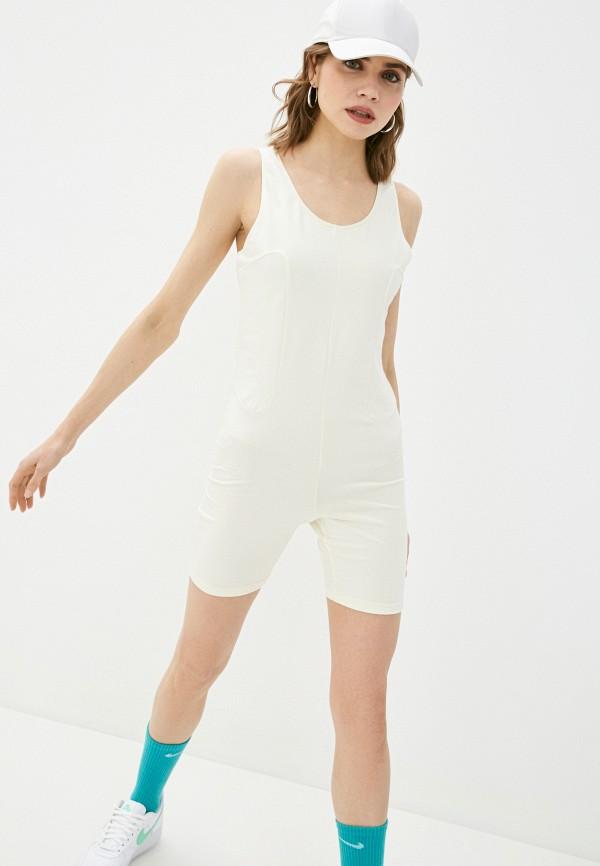 Комбинезон Nike белого цвета