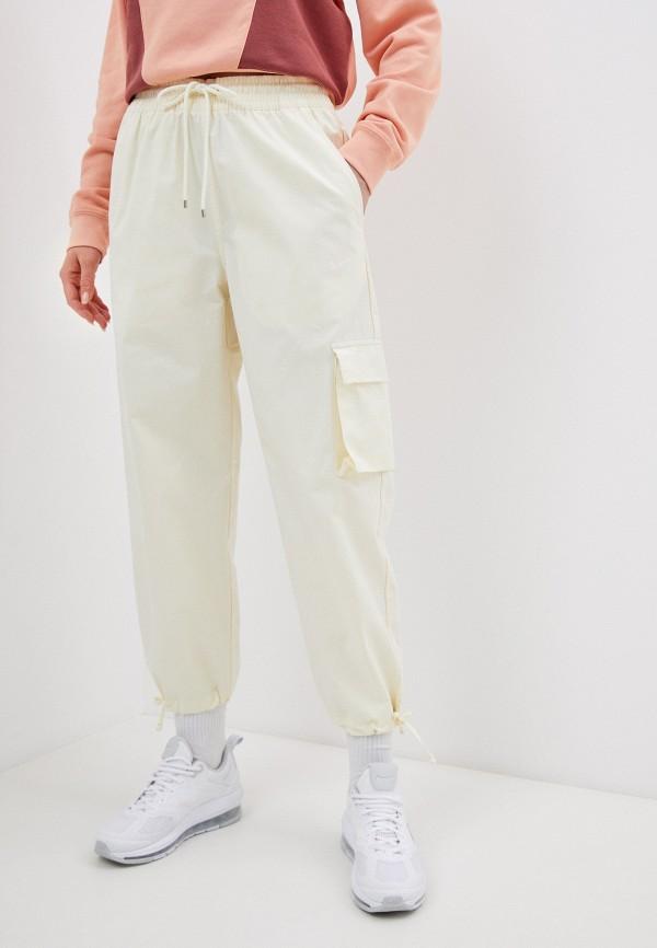 женские брюки карго nike, желтые