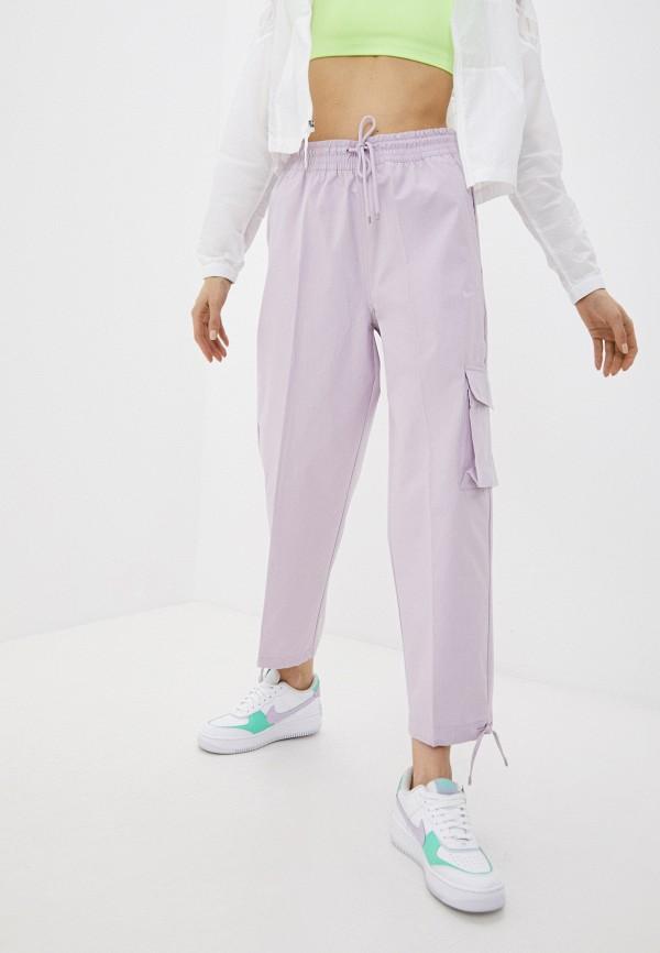 женские брюки джоггеры nike, фиолетовые