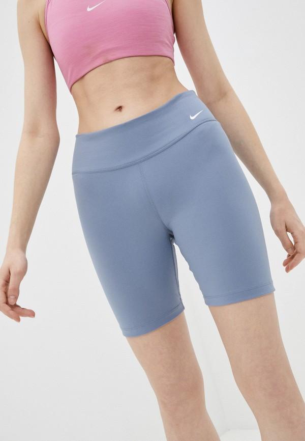 женские спортивные шорты nike, голубые